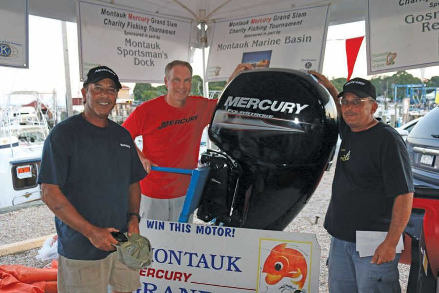 Mercury Marine Grand Slam Winner with Motor
