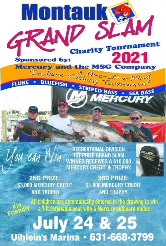 Mercury Marine Grand Slam Fishing Tournament
